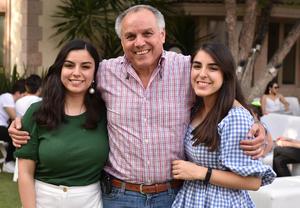 Sofía, Fernando y Marcela