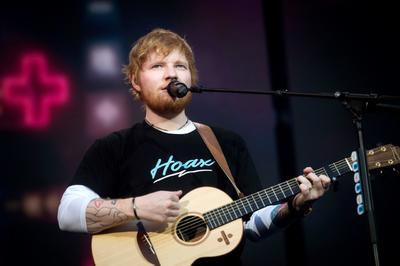 Ed Sheeran ofrece concierto en el Wanda Metropolitano de Madrid