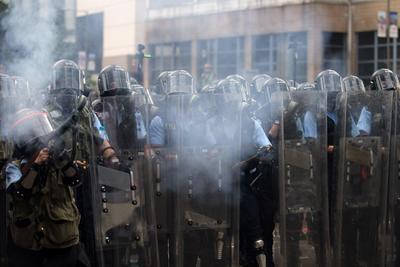 Se recordaron las tumultuosas protestas de 2014.