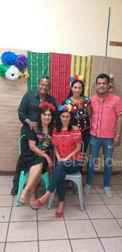 Carlos B., Rocío, Carlos F., Yolanda y Erika.