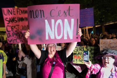 La huelga también reivindica el respeto a la mujer, en un país donde, según Amnistía Internacional, una fallece a manos de su pareja o expareja cada dos semanas.