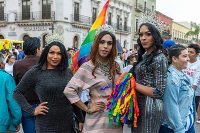 Este año se vio mayor participación de mujeres y hombres transgénero.