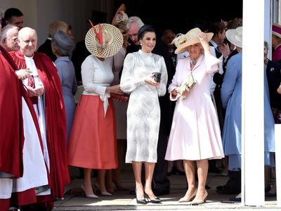 Acudieron también personalidades de la realeza española.