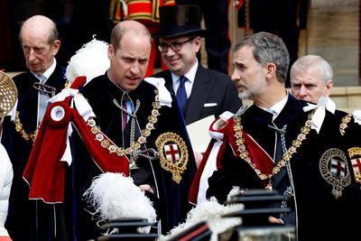 Fue un evento con todo el sello de la realeza.