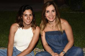 Elena Siller y Olga Sánchez