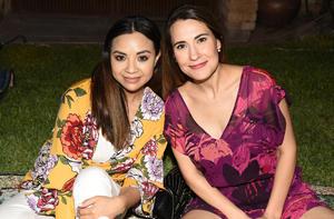 Iliana Pérez y Karina Sánchez
