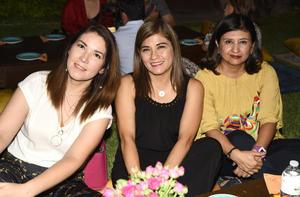 Lolis Márquez, Margarita Alcalá y Angie Gaytán