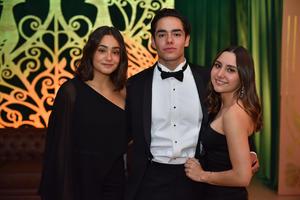 Samantha, Emilio y Sofía