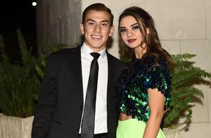 Luis Mario y Andrea