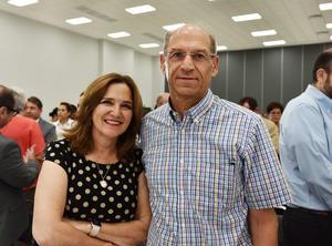 Cecilia Marroquín y Guillermo Murra