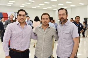 Mario, Fernando y Javier