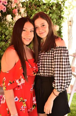 Valeria Velasco y Valeria Kuri