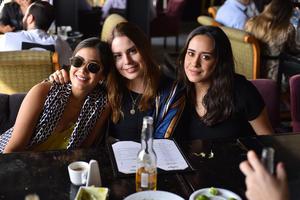 Claudia, Mariana y Cristy