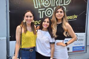 Mariana, Gina y Cristina