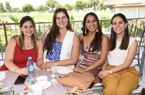 Brenda, Luisa, Victoria y Sofía