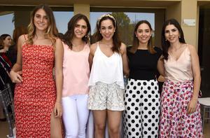 Viviana, Tania, Sory, Paty y Karla