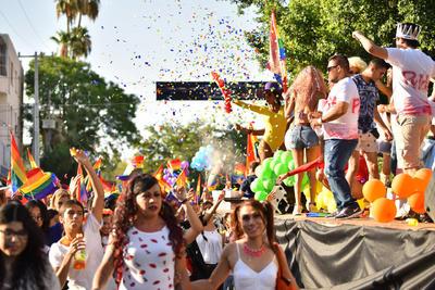 Se realizó la Marcha del Orgullo Gay.
