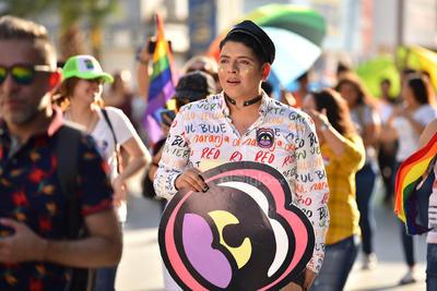 Sus integrantes salieron a las calles en favor de la diversidad.