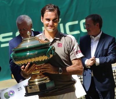 Roger Federer sigue haciendo historia.