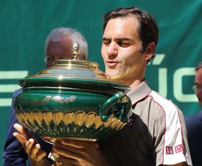 El suizo ganó el torneo de Halle.