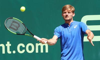 Goffin encajó la octava derrota en nueve encuentros ante Federer.