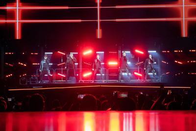 Backstreet Boys ofrecen concierto en el Sports Arena de Budapest