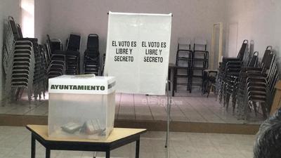 A las 8:00 horas inició la jornada electoral.