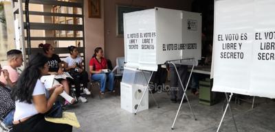 Se espera un 50 por ciento de participación en las elecciones.