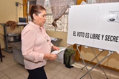 González Achem comentó que no se preparó un operativo especial de seguridad, únicamente el que se realiza de la mano con las autoridades electorales y policiales.