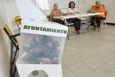 ELECCIONES AYUNTAMIENTOS 2019  VOTO VOTACIONES PARA ELEGIR PRESIDENTES MUNICIPALES