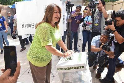 ELECCIONES AYUNTAMIENTOS 2019  VOTO VOTACIONES PARA ELEGIR PRESIDENTES MUNICIPALES  ALCALDESA LETY HERRERA