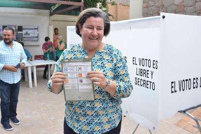 ELECCIONES AYUNTAMIENTOS 2019  VOTO VOTACIONES PARA ELEGIR PRESIDENTES MUNICIPALES  Claudia Galán PAN