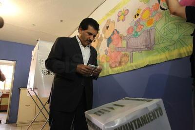 José Ramón Enríquez, candidato a la Alcaldía de Durango del partido Movimiento Ciudadano (MC).