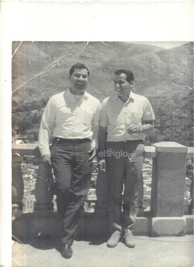 Óscar González Pérez y Alfredo Sáenz García.
