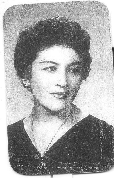 Ma. Elena Chairez de González. 1981.