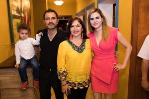 02062019 EN APERTURA.  Mayito Jiménez, Mario Jiménez, Cecilia Torres y Lupita Fajardo.