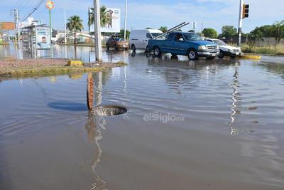 Se registraron inundaciones en distintos puntos.