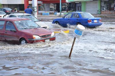 Las lluvias afectaron seriamente a La Laguna.