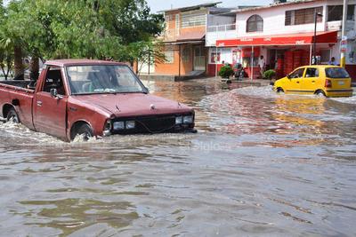 Por las lluvias, se tuvo una captación de líquido de 31.8 milímetros de agua en un lapso de 12 minutos.