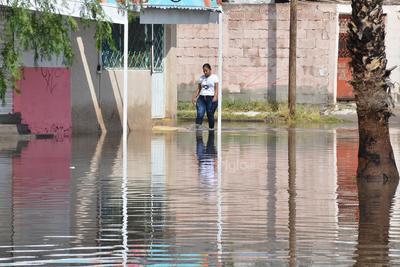 Se reportaron inundaciones en distintas colonias.