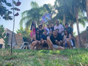 04062019 Cumpleaños de Georgina Olivares Franco, en agradable fiesta con sus amigos.