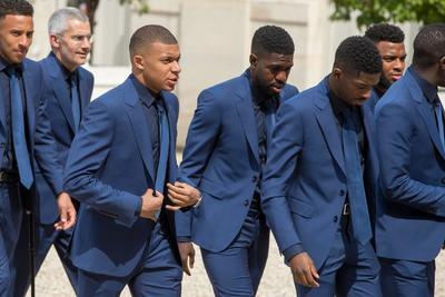A Mbappé, la revelación del Mundial y segundo máximo goleador de la competición, lo comparó con Pelé y subrayó que pese a su juventud puso en evidencia su ejemplaridad y madurez.