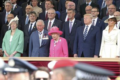 Se conmemoró el 75 aniversario del desembarco de Normandía.