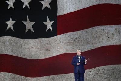 El presidente estadounidense ofreció un discurso.