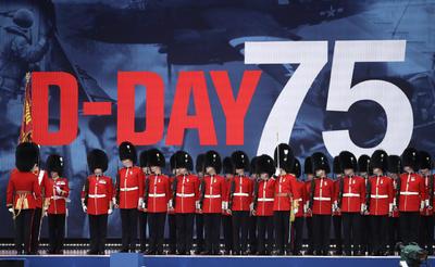 Alrededor de 300 veteranos de la II Guerra Mundial fueron homenajeados.