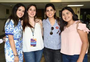 05062019 Anavi Aguilar, Pilar Leal, Dany Lomelín y Sofía Enríquez.