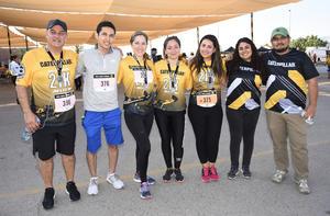 05062019 PARTICIPAN EN CARRERA ATLéTICA.  Ricardo, Espartaco, Fernanda, Gabriela, Sofía, Teresa y David.
