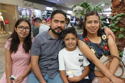 De paseo en familia