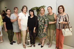 06062019 Nonis, Abril, Lupita, Gris, Marisa, Silvia y Carmelita.