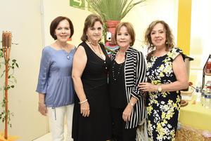 06062019 Elisa, Paty, Rosina y Marisa.